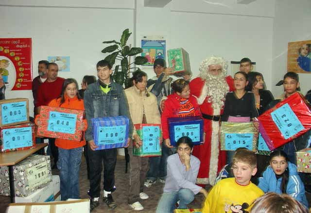 A CRAIOVA les orphelins d'un Centre de Placement